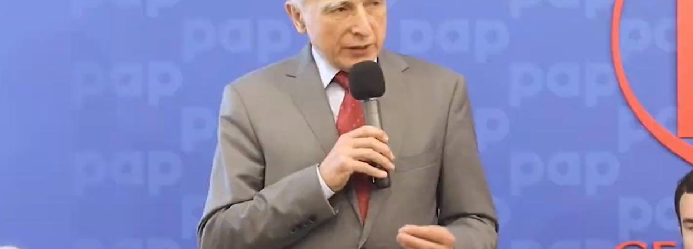 Piotr Naimski - Pełnomocnik Rządu do spraw Strategicznej Infrastruktury Energetycznej.