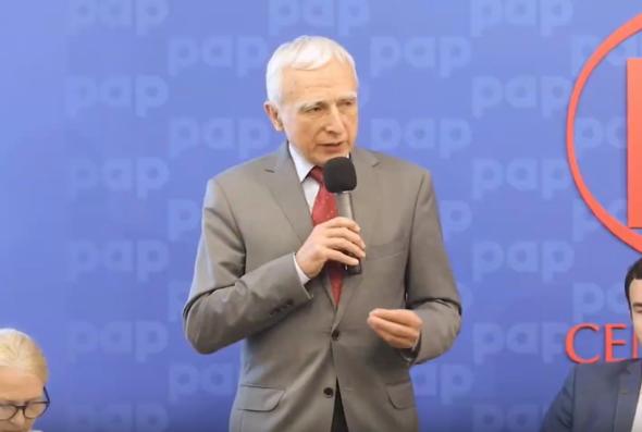 Piotr Naimski – Pełnomocnik Rządu do spraw Strategicznej Infrastruktury Energetycznej.