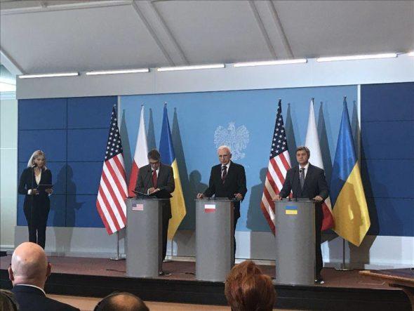 Porozumienie Polska-USA-Ukraina fot Biuro Pełnomocnika Rządu ds strategicznej infrastruktury energetycznej