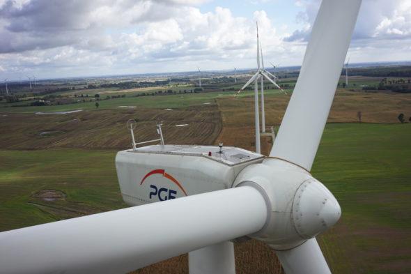 wiatrak pge energa odnawialna oze