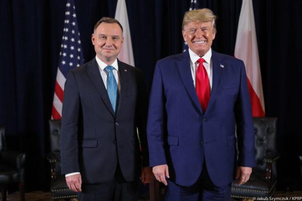 Andrzej Duda i Donald Trump. Fot. Kancelaria Prezydenta RP