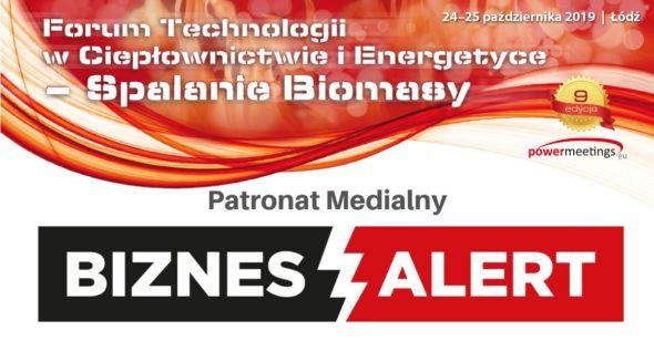 IX jesienne Forum Technologii w Ciepłownictwie i Energetyce pod patronatem medialnym BiznesAlert.pl