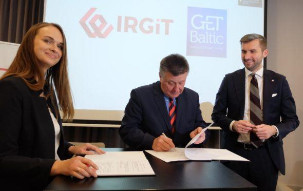 Polska izba rozliczeniowa IRGiT rozpoczyna współpracę z bałtycko-fińską giełdą gazu GET Baltic.G.Kurme A.Kalinowski Ł.Goliszewski. Fot. TGE