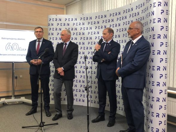 Konferencja prasowa PERN. Fot. Bartłomiej Sawicki/BiznesAlert.pl