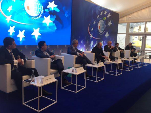 Panel o 5G na Forum Ekonomicznym w Krynicy. Fot. BiznesAlert.pl