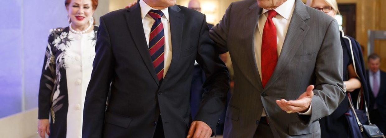 Piotr Naimski i Rick Perry. Fot. Biuro Pełnomocnika Rządu ds. Strategicznej Infrastruktury Energetycznej.