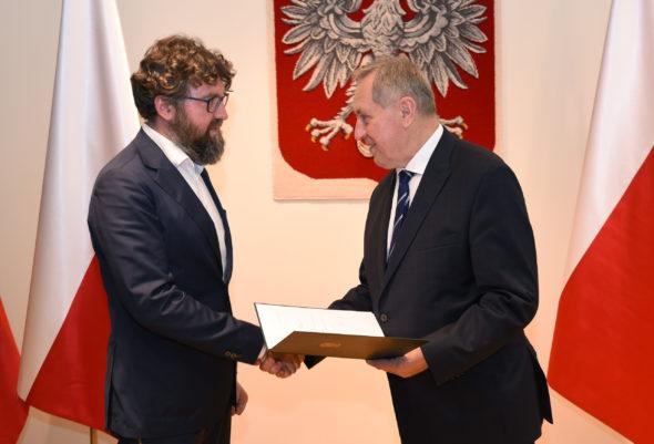 Piotr Woźny został nowym prezesem NFOŚiGW. Fot. Ministerstwo Środowiska
