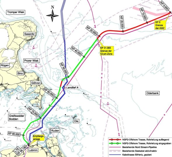 Plany budowy Nord Stream 2