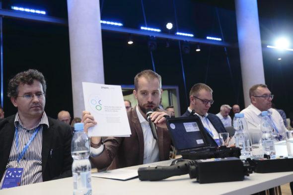 Prezentacja raportu PSPA. Fot. PSPA