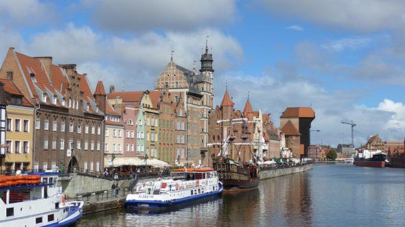 Stary port w Gdańsku. Źródło: Pixabay