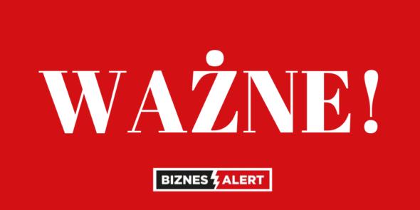 WAŻNE BiznesAlert.pl