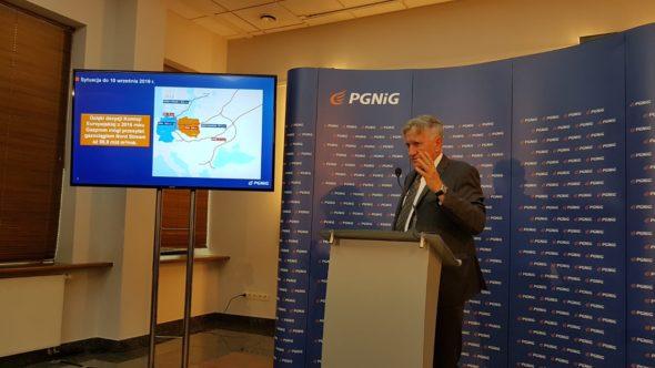 Prezes PGNiG Piotr Woźniak fot. Piotr Stępiński/BiznesAlert.pl