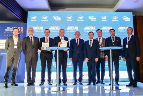 Enea Obrót, PGE Dystrybucja i PGE Systemy mają porozumienie o współpracy przy budowie sieci LTE 450. Fot. Ministerstwo Energii
