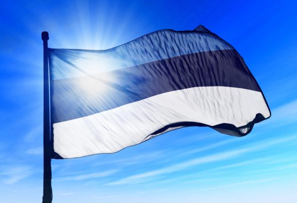 estonia Flaga Estonii