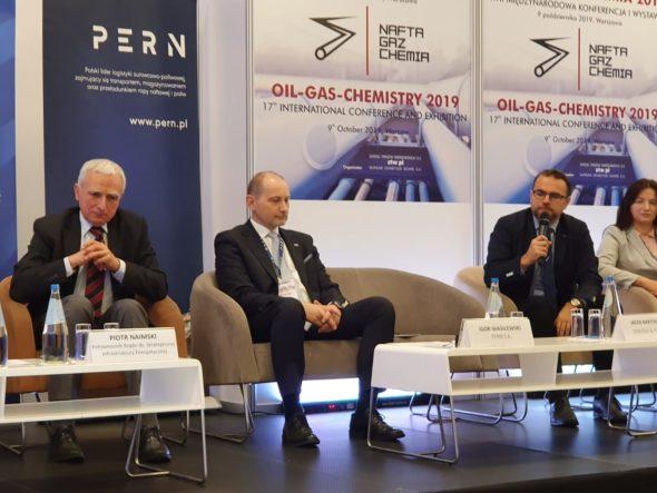 Konfrencja Nafta-Gaz-Chemia 2019. Fot. Wojciech Jakóbik:BiznesAlert.pl