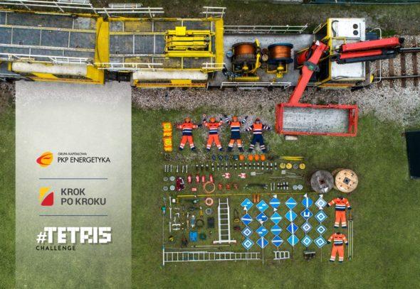 Tetris Challenge w PKP Energetyka_grafika