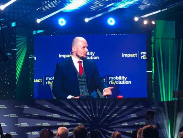 Jarosław Broda, wiceprezes Grupy Tauron podczas ImapctMobility 19. Fot. BiznesAlert.pl/Bartłomiej Sawicki