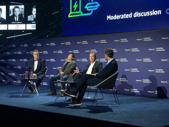 Panel dyskusyjny z udziałem Adama Czyżewskiego, głównego ekonomisty PKN Orlen,. Fot. BiznesAlert.pl/Bartłomiej Sawcki