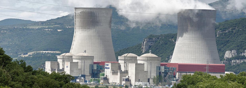 Elektrownia jądrowa Cruas. Fot. Wikimedia Commons