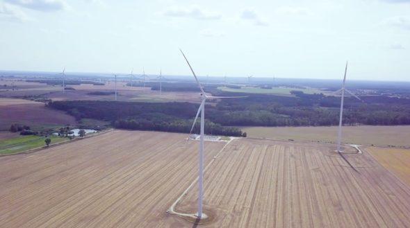 Farma Wiatrowa Mycielin 1 – foto Polenergia