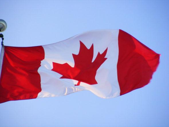 Flaga Kanady. Źródło: Flickr