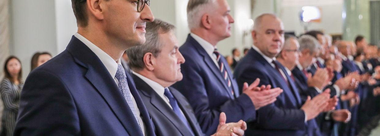 Nowy rząd Mateusza Morawieckiego. Fot. Prezydent.pl/Jakub Szymczuk