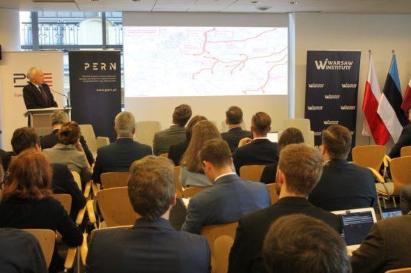 Piotr Naimski na konferencji NATO Eastern Flank Security. Fot. Warsaw Institute