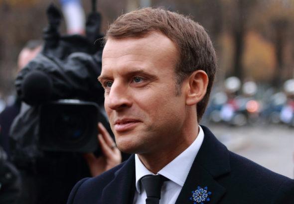 Prezydent Francji Emmanuel Macron. Źródło: wikicommons