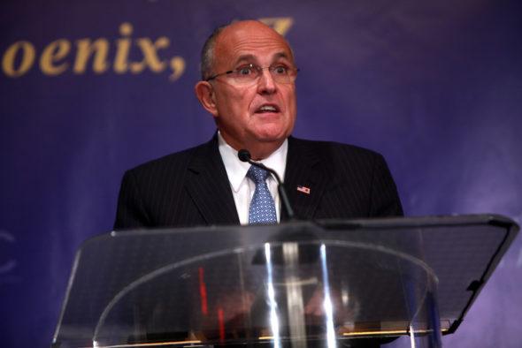Rudy Giuliani. Źródło Flickr