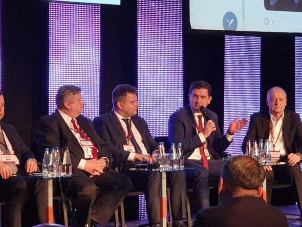 Tomasz Rogala, prezes PGG podczas EuroPower 2019. Fot. Wojciech Jakóbik/BiznesAlert.pl