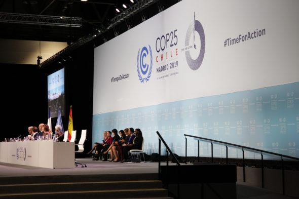Szczyt COP25 w Madrycie. Źródło: Flickr