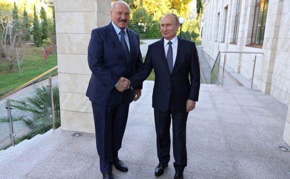 Aleksandr Łukaszenko Władimir Putin