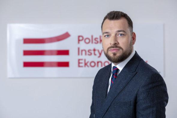 Piotr Arak, Dyrektor Polskiego Instytutu Ekonomicznego. Fot.: PIE