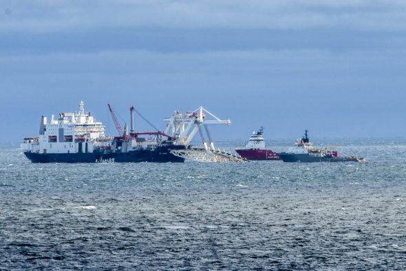 Budowa Nord Stream 2 w Rugii Flickr
