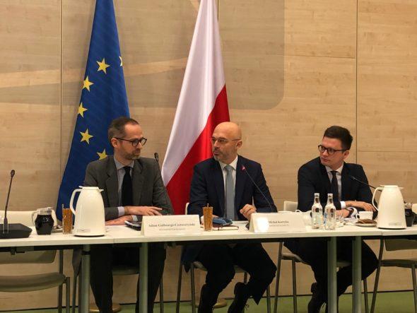 Michał Kurtyka i Adam Guiborge-Czetwertyński. Fot. Bartłomiej Sawicki BiznesAlert