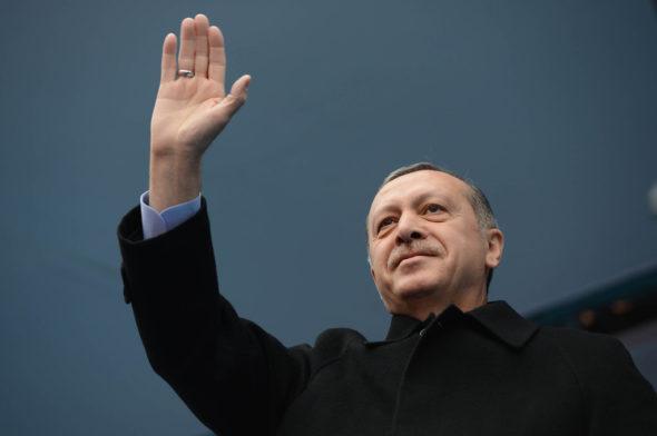 Prezydent Turcji Recep Erdogan. Źródło: Flick