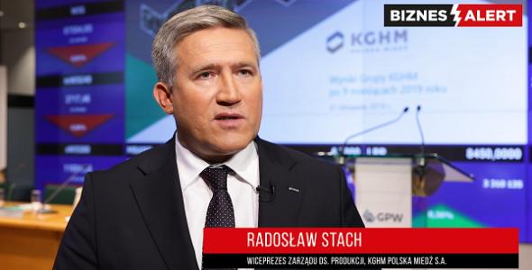 Radosław Stach KGHM