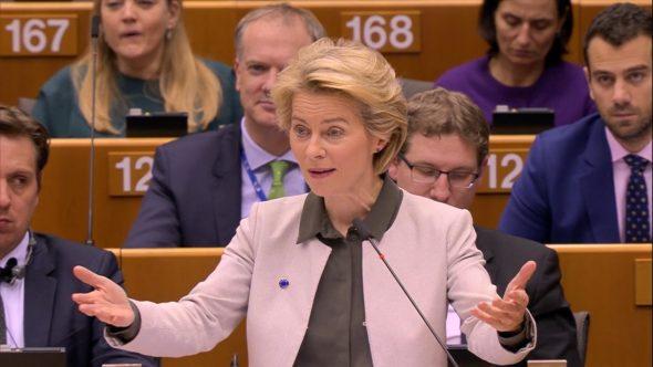Ursula von der Leyen, przewodnicząca Komisji Europejskiej. Fot.; BiznesAlert.pl