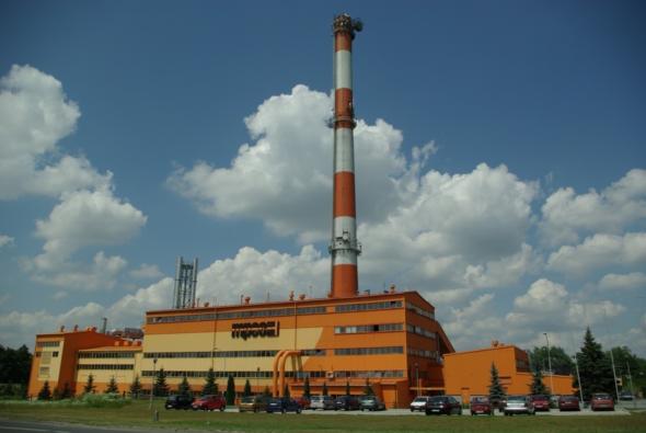 """Elektrociepłownia """"Piaskówka"""" fot. MPEC Tarnów"""