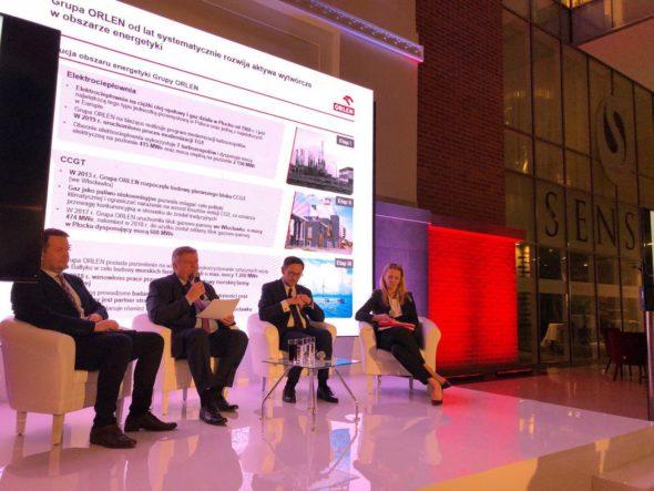 Debata dotycząca wezwania na zakup akcji Energi przez PKN Orlen z udziałem Prezesa PKN Orlen Daniela Obajtka. Fot.: BiznesAlert.pl/Bartłomiej Sawicki