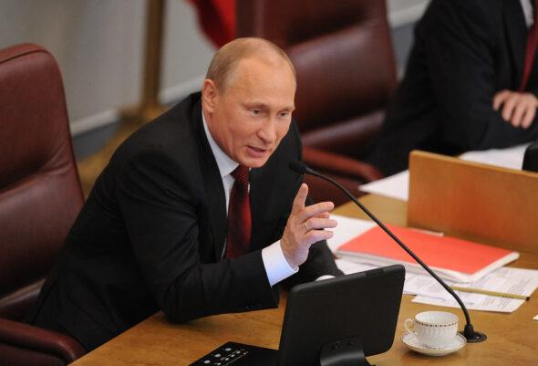 Prezydent Rosji Władimir Putin fot. Flicr/Mitya Aleshkovsky