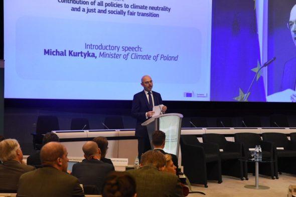 Minister Klimatu Michał Kurtyka .Fot. Ministerstwo Klimatu