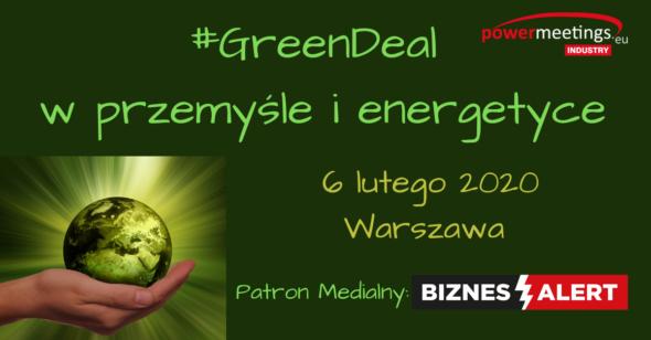 : #GreenDeal w przemyśle i energetyce l- Patronat BiznesAlert.pl