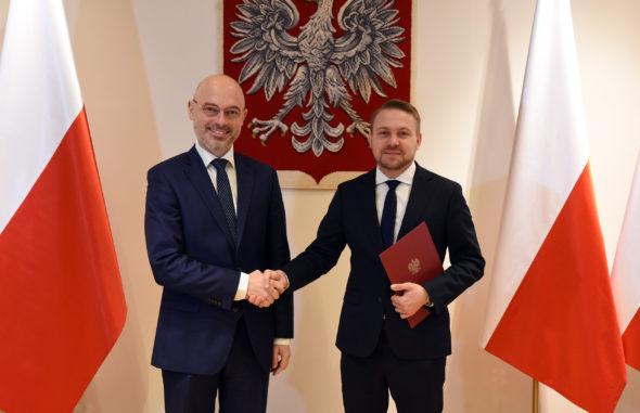 Nowy wiceminister klimatu Jacek Ozdoba. Fot. Ministerstwo klimatu