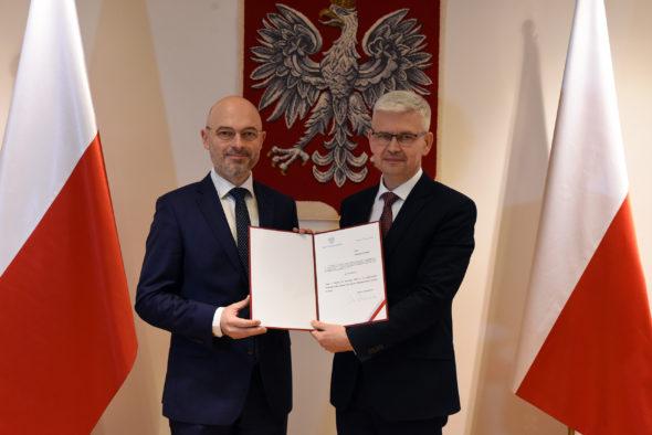 Pełnomocnik rządu ds. OZE Ireneusz Zyska. Fot. Ministerstwo Klimatu