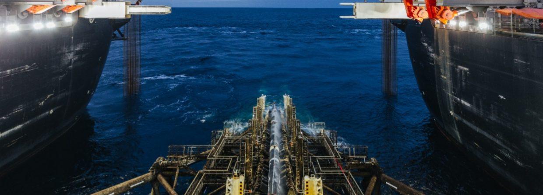 Pioneering Spirit na budowie Turkish Stream. Fot. Gazprom