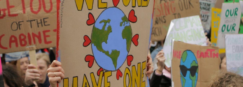 Strajk klimatyczny. Źródło: Flickr