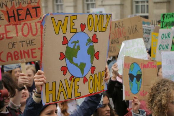 Strajk klimatyczny. Źródło Flickr