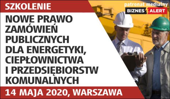 Nowe prawo zamówień publicznych dla energetyki, ciepłownictwa i przedsiębiorstw komunalnych – Patronat medialny BiznesAlert.pl