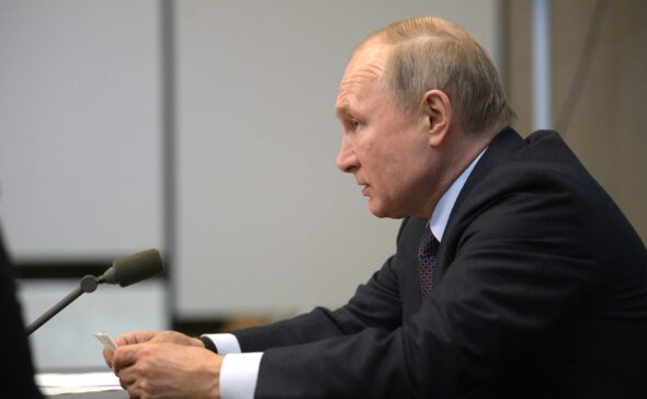 Prezydent Rosji Władimir Putin fot. kremlin.ru